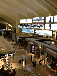 My brother-in-law David Woo's architectural design at LAX. Pretty cool!